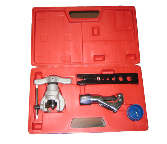 Eccentric flaring&swaging tool set 802